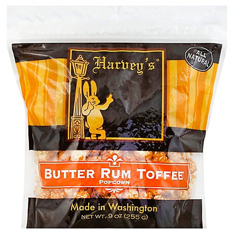 Harvey S Butter Rum Toffee Popcorn - 9 Oz