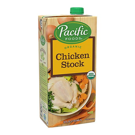 Pacific Organic Stock Chicken - 32 Fl. Oz.