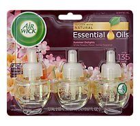Air Wick Life Scents Scented Oil Summer Delights - 3-0.67 Fl. Oz.
