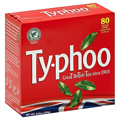 Typhoo Tea Black Rglr - 80 Count