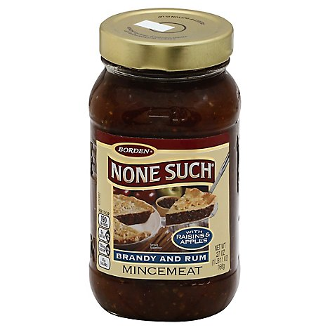 None Such Mincemeat Brandy Rum - 27 Oz