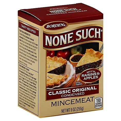 None Such Mincemeat Condensed - 9 Oz