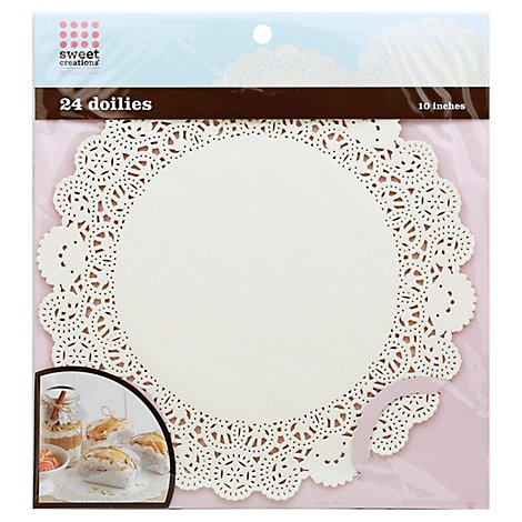 Gc Doilies 10in - 24 Count