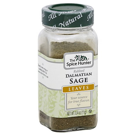 Spice Hunter Dalmatian Sage Rubbed - .4 Oz