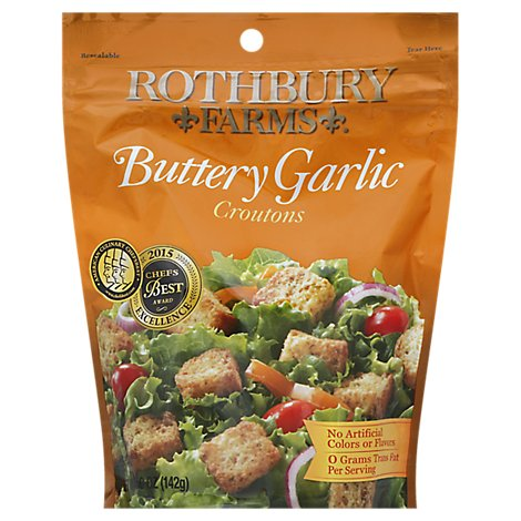 Rothbury Farms Garlic Butter Croutons - 5 Oz