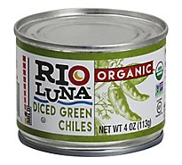 Rio Luna Organic Chiles Green Diced Can - 4 Oz