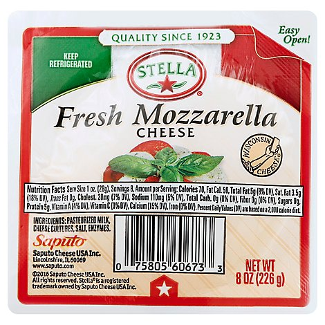 Stella Fresh Mozzarella Balls - 8 Oz
