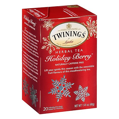 Twinings of London Tea Holiday Berry - 20 Count