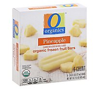 O Organics Fruit Bars Pineapple - 6-2.45 Oz