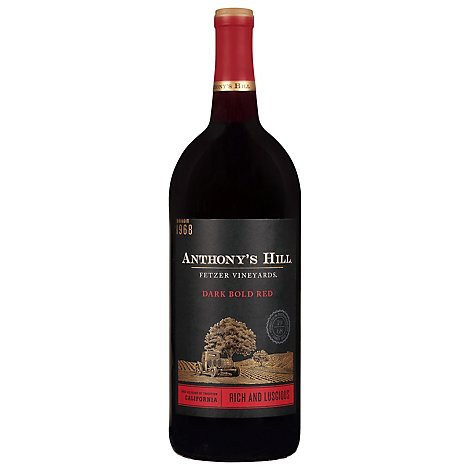 Anthonys Hill Wine Red Blend - 1.5 Liter