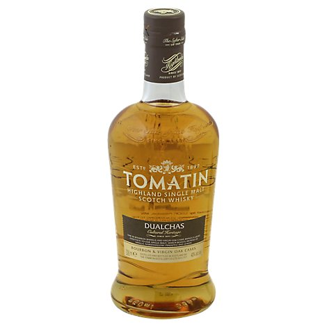 Tomatin Scotch Whisky Highland Single Malt Dualchas - 750 Ml