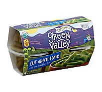 Green Valley Organic Green Beans Cut - 4-4 Oz