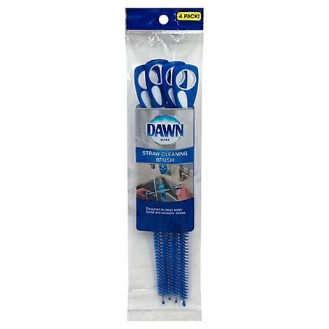 Dawn Straw Cleaner Brush - 4 Count