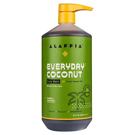 Alaffia Everyday Coconut Body Wash - 32 Fl. Oz.