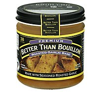 Better than Bouillon Base Premium Roasted Garlic - 8 Oz