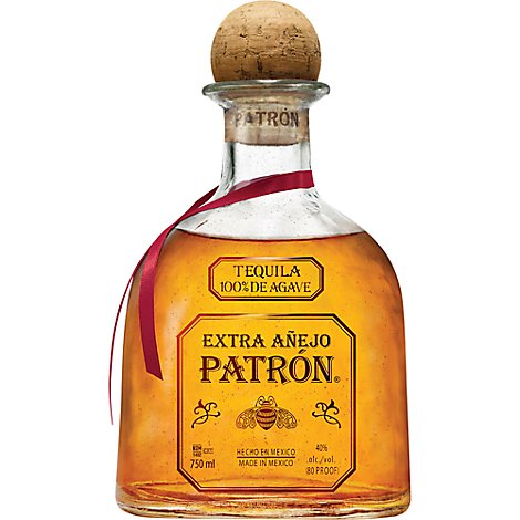 Patron Tequila Extra Anejo 80 Proof - 750 Ml