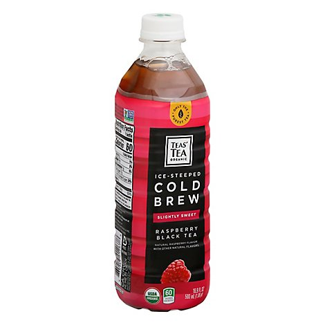 Teas Tea Tea Rasp Black Cold Brew - 16.9 Fl. Oz.