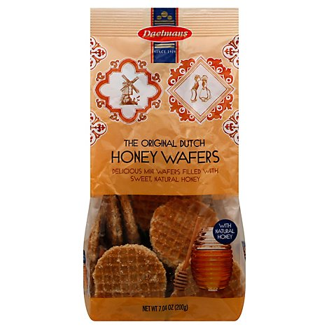 Dael Wafer Hny Mini Stroopwafe - 7.04 Oz