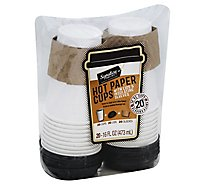 Signature SELECT Cups Paper Hot - 20 Count