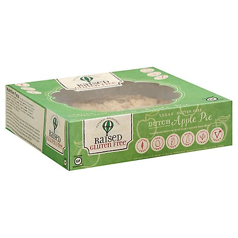 Raised Gluten Free Pie Apple Dutch Gluten Free - 22 Oz