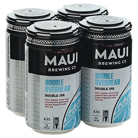 Maui Double Overhead Ipa In Cans - 4-12 Fl. Oz.