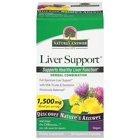 Natures Answer Liver Support - 90 Count
