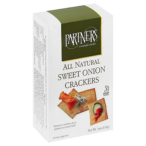 Partners Cracker Wallawalla Swtonion - 4  Oz