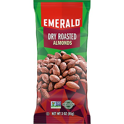 Emerald Dry Roasted Almonds - 3 Oz