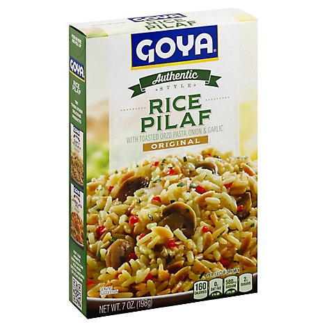 Goya Rice Pilaf Authentic Style Original Box - 7 Oz