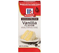 McCormick Vanilla Flavor Extract Concentrated - 2 Fl. Oz.