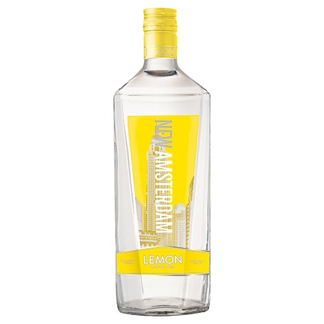 New Amsterdam Vodka Lemon Flavored 70 Proof - 1.75 Liter