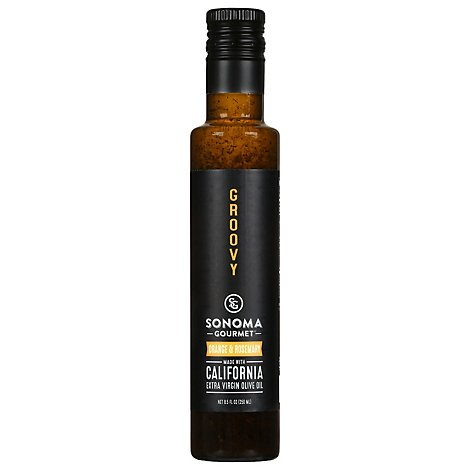Sonoma Gourmet Orange And Rosemary Extra Virgin Olive Oil - 8.5 Fl. Oz.