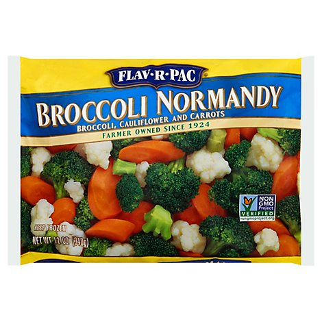 Flav-R-Pac Vegetable Blends Broccoli Normandy - 12 Oz
