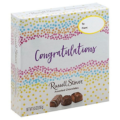 Russell Stover Chocolates Assorted Congratulations - 5.5 Oz