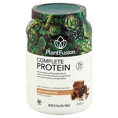 Plantfusi Protein Powder Chocolate - 2  Lb