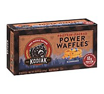 Kodiak Cakes Energy Waffles Blueberry Chai 8 Count - 10.72 Oz