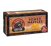 Kodiak Cakes Power Waffles Buttermilk & Vanilla 10 Count - 13.4 Oz
