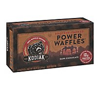 Kodiak Cakes Power Waffles Dark Chocolate 8 Count - 10.72 Oz