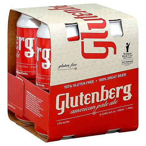 Glutenberg American Pale Ale In Bottles - 4-16 Fl. Oz.