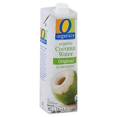 O Organics Coconut Water Original - 33.8 Fl. Oz.