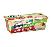 Minute Ready To Serve White Rice Organic - 2-4.4 Oz
