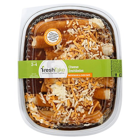 Freshtake Cheese Enchiladas - 48 Oz