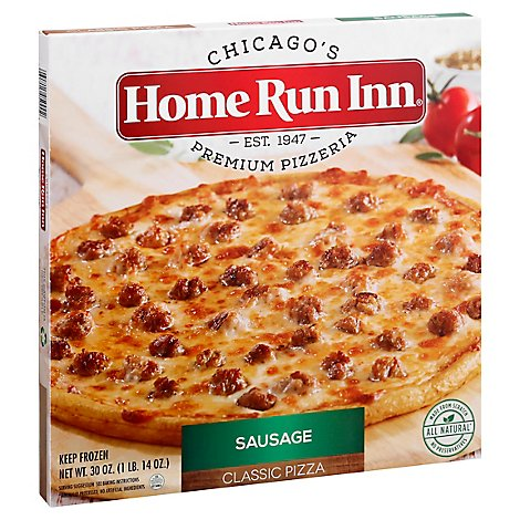 Home Run Inn Pizza Classic Sausage Frozen - 30 Oz
