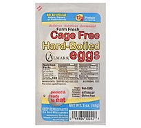 Almark Foods Eggs Hard Boiled Peeled 2 Count - 3 Oz