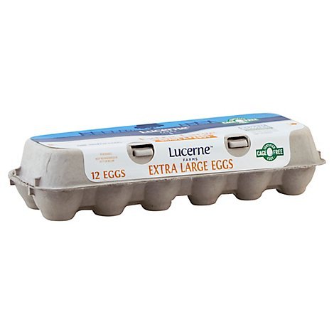 Lucerne Farms Eggs Cage Free Extra Large - 12 Count
