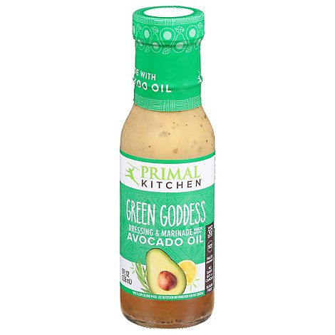 Primal Kitchen Dressing Green Goddess with Avocado Oil - 8 Fl. Oz.