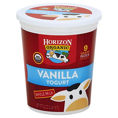 Horizon Organic Vanilla Yogurt - 32 Oz