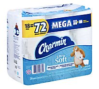 Charmin Bathroom Tissue Ultra Soft Mega Roll 2 Ply - 18 Roll