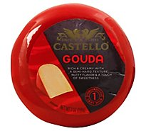 Castello Cheese Gouda Very Mild Round - 7 Oz