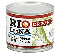 Rio Luna Organic Chiles Green Large Chopped Can - 7 Oz